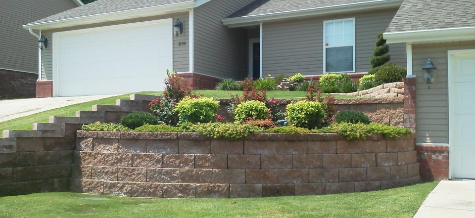 We can help you plant bushes, flowers and devise a layout you are sure to love!